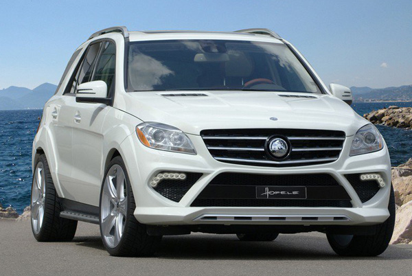 Mercedes-Benz ML Starcruiser GT 550 от Hofele Design
